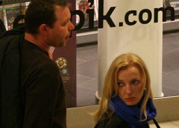 Anna Rogowska z mężem Jackiem Torlińskim