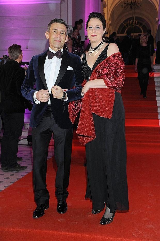 Robert Korzeniowski i Magda Kłys