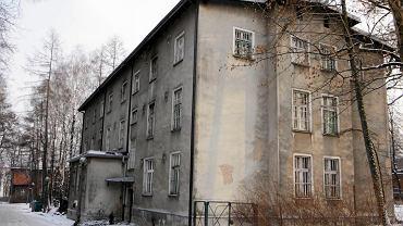 Jeden z pawilonów szpitala psychiatrycznego w Rybniku