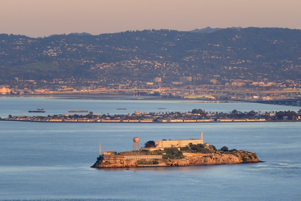 Wi�zienie Alcatraz, San Francisco, USA / fot. Shutterstock