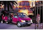MERCEDES-BENZ Vito 110 D, rok produkcji 1996,  widok przedni prawy, samoch�d 4-drzwiowy, kolor fioletowy