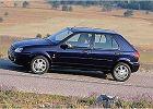 FORD Fiesta 99-02, rok produkcji 2000, coupe, widok przedni lewy, samoch�d 5-drzwiowy, kolor niebieski jasny