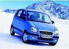 HYUNDAI Atos Prime 00-02, rok produkcji 2001, coupe, widok przedni prawy, samoch�d 5-drzwiowy, kolor zielony