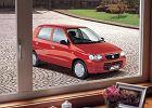 SUZUKI Alto 02-06, rok produkcji 2002, coupe, widok przedni prawy, samoch�d 5-drzwiowy, kolor czerwony jasny