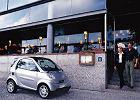 SMART city/fortwo coupe 02-07, rok produkcji 2002, coupe, widok przedni prawy, samoch�d 3-drzwiowy, kolor silver grey