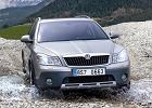 SKODA Octavia II Kombi 08-, rok produkcji 2009, kombi, widok przedni prawy, samoch�d 5-drzwiowy, kolor silver grey
