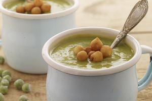 Zielony groszek - w sa�atce, przek�sce, daniu g��wnym