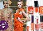 Pomara�czowy manicure - lepszy fluo czy pastelowy?
