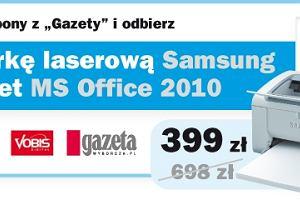 Drukarka laserowa Samsung w pakiecie z MS Office