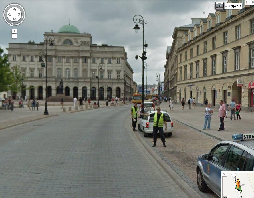 Warszawa Juz W Street View Kazdy Oglada Swoja Stolice