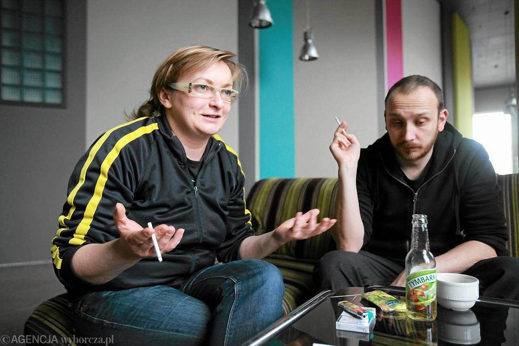 Monika Strzępka i Paweł Demirski