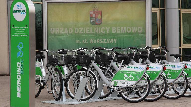 System wypożyczalni rowerowych na Bemowie