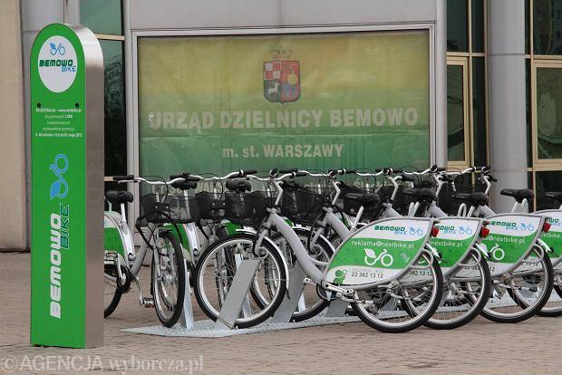 System wypo�yczalni rowerowych na Bemowie