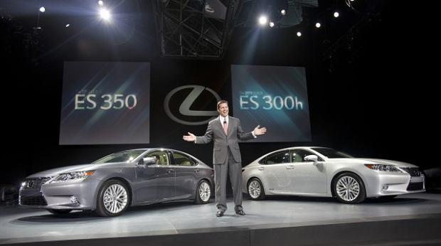 Salon Nowy Jork 2012 | Lexus ES