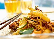 Makaron po tajsku ze szparagami - ugotuj