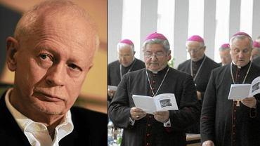 Michał Boni i niektórzy cżłonkowie Episkopatu Polski
