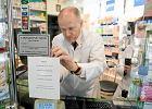 Jedna z aptek w Gdyni w czasie głośnego i dotkliwego dla pacjentów protestu receptowego