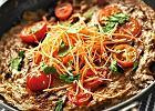 Hinduski omlet Tikka Masala