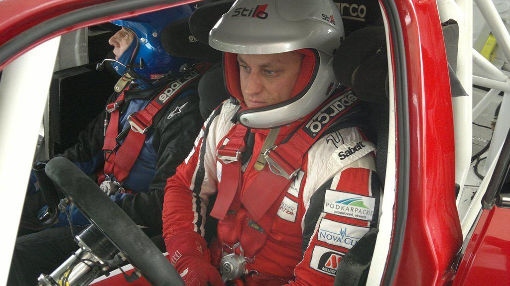 Maciej Rzeźnik odwiedził siedzibę firmy Prodrive, która przygotowuje samochody rajdowe Mini WRC