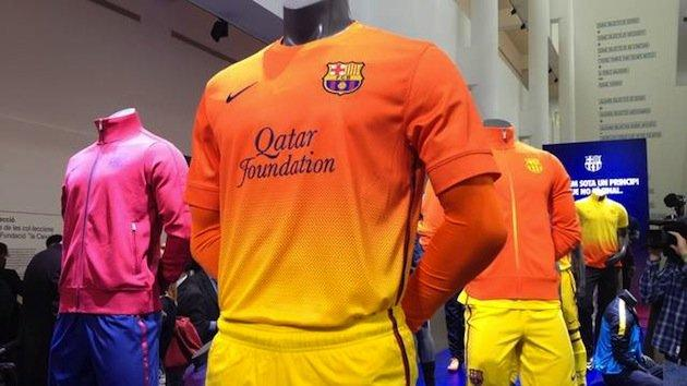Nowe stroje wyjazdowe Barcelony