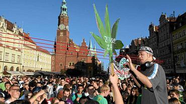 Marsz Konopi we Wrocławiu