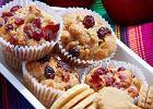 Menu dnia z jabłkowymi muffinami