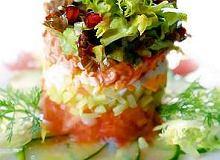 Sałatka z krabów kamczackich - ugotuj