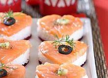 Serduszka (sushi) - ugotuj