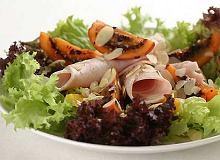 Sałatka z tamarillo i indykiem - ugotuj
