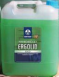 Płyn zawierający glikol, stosowany m.in. do ochrony instalacji grzewczych przed zamarzaniem.