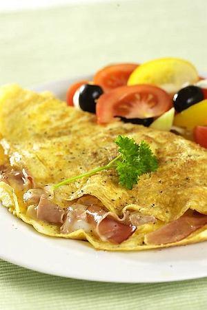Omlet z szynk�