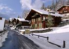 Narty w Szwajcarii. Val d'Anniviers