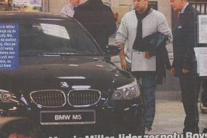 Lider Boys ma ch�tk� na BMW