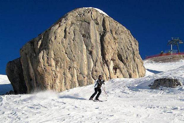 Trasa za szczytu Belvedere