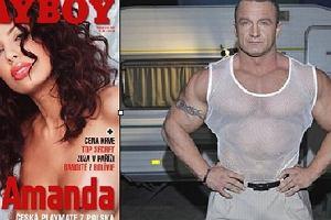 """Pudzian zwi�za� si� z dziewczyn� """"Playboya""""?!"""