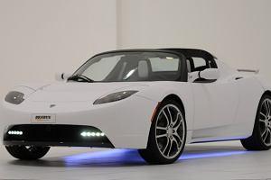 Elektryczny samochód z ciekawym brzmieniem - Tesla Roadster od Brabusa