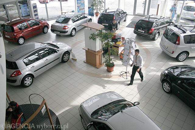 Salon samochodowy warszawa
