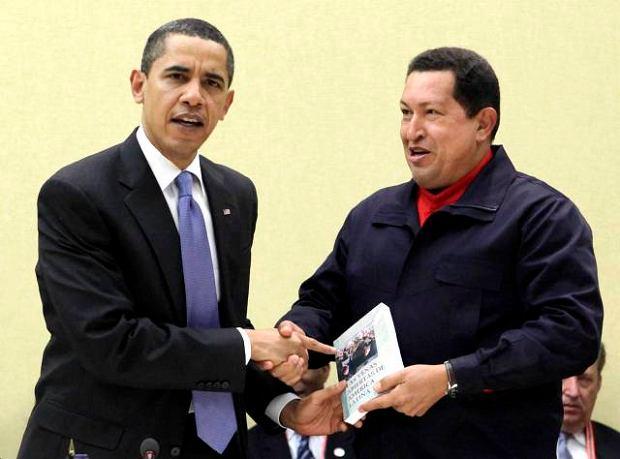 Chavez wykonuje pojednawcze gesty wobec Obamy