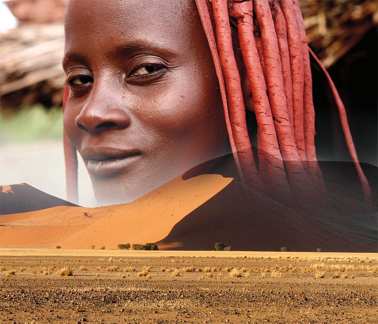 Namibia, kolaż: Shutterstock
