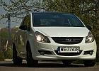 Opel Corsa Black&White - test wideo