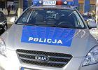 19-latek staranowa� radiowozy policji i stra�y miejskiej na skrzy�owaniu