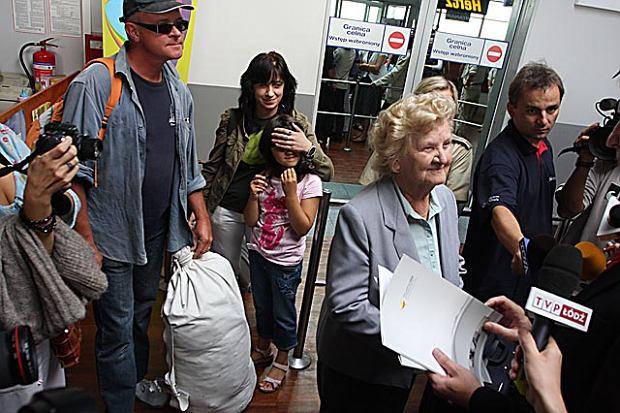 Milionowa pasa�erka ��dzkiego lotniska