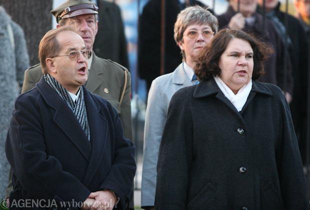 O. Tadeusz Rydzyk i Anna Sobecka