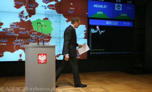Donald Tusk og�osi� te�, �e nie wystartuje w wyborach prezydenckich