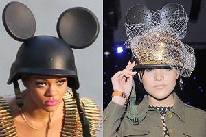 Z lewej orygina�, czyli Rihanna. Z prawej Dominika Gaw�da. Podziwiamy szczero�� naszej gwiazdki. Jednak czy kopiowanie Rihanny na pewno wysz�o jej na dobre?