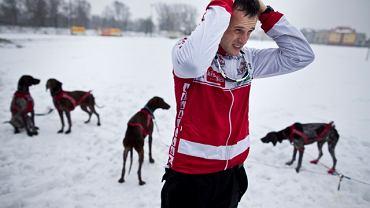 Igor Tracz i jego psy