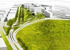 Tak będzie wyglądać miasteczko biurowe obok Okęcia