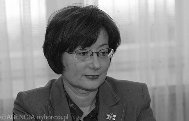 Aleksandra Natalli-Świat (20.02.1959 - 10.04.2010)