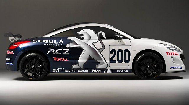 Dwa, specjalnie przygotowane Peugeoty RCZ wystartują w majowym, 24-godzinnym wyścigu na torze Nurburgring