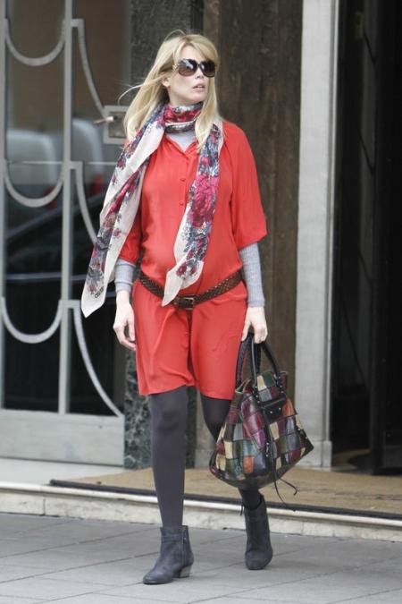 Claudia Schiffer w ciąży